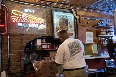 Staff members tend to stay a long time at Nick's. (Brittany Faush / Alabama NewsCenter)