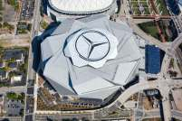 The Mercedes-Benz Stadium charged less for concessions and it paid off. (contributed)