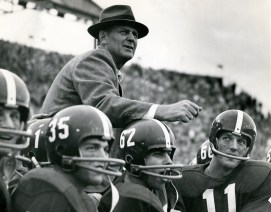 """Paul """"Bear"""" Bryant served as both head football coach and athletic director for the University of Alabama. (Contributed)"""