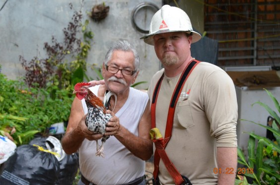 Puerto Rico residents are very appreciative as Alabama Power and sister companies restore power on the island. (Southern Company)