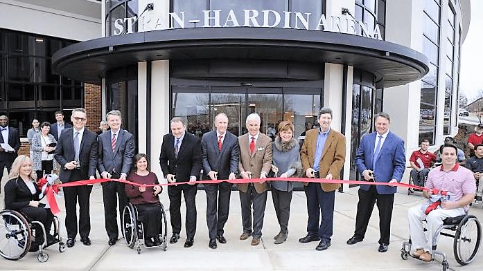 University of Alabama Adapted Athletics opens Stran-Hardin Arena
