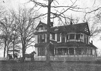 The Pickens home in Livingston, Sumter County, c. 1900. Ruby Pickens was born and raised in Livingston, and worked to preserve the heritage of Sumter County. (From Encyclopedia of Alabama, courtesy of Christopher Rose)