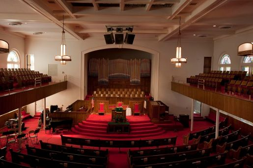 Sixteenth Street Baptist Church, Birmingham, 2010. (The George F. Landegger Collection of Alabama Photographs in Carol M. Highsmith's America, Library of Congress, Prints and Photographs Division)