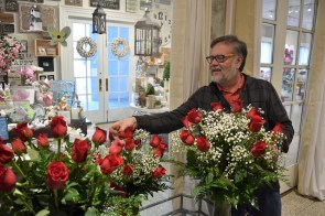 Jerry Thrash's family has a long history with Rosemont Gardens, and he enjoys telling the story of the 125-year-old business and its founders, who were Scottish immigrants. (Melissa Johnson Warnke / Alabama Retail Association)