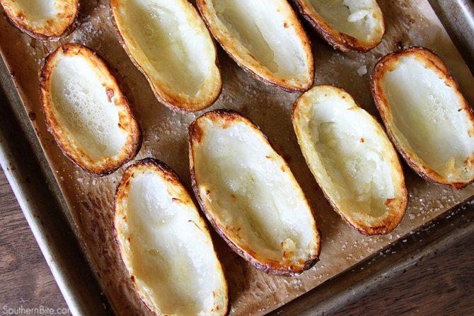 Recipe Pulled Pork Stuffed Potato Skins Alabama Newscenter