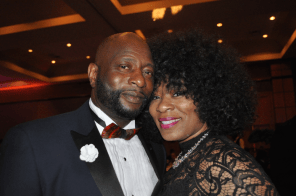 Mrs. and Mrs. Greg Jones attend the gala. (Photo courtesy The Birmingham Times)
