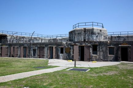 Fort Gaines at Dauphin Island, 2010. (The George F. Landegger Collection of Alabama Photographs in Carol M. Highsmith's America, Library of Congress, Prints and Photographs Division)