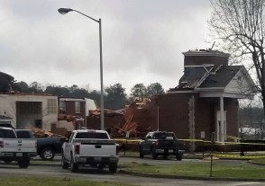 Storm damage in east Alabama from the March 19, 2018 storms was extensive. (Justis Self)