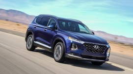 Hyundai's overhauled Santa Fe SUV will be made in Alabama. (Hyundai)