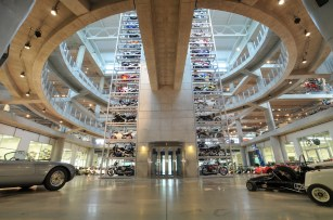 The Barber Vintage Motorsports Museum is, among other things, the world's largest motorcycle museum. (Mark Bondarenko)