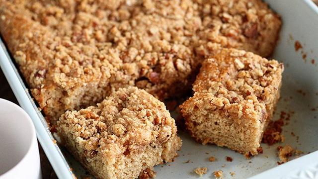 Recipe: Buttermilk Pecan Coffee Cake