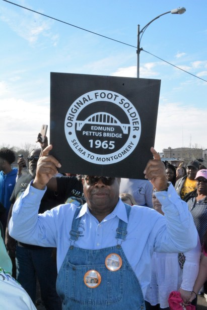 An original Civil Rights Movement foot soldier is still on the march. (Stephonia Taylor McLinn/The Birmingham Times)