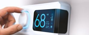 Set your thermostat on a fixed temperature and forget it, depending on the season, to help even out bill spikes. (file)