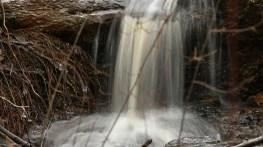 Kreher Nature Preserve waterfall. (Copyright © Lew Scharpf)