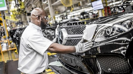 Jefferson County recruiters now have a long list of nearby auto manufacturers, including the Mercedes plant, to mention when trying to lure auto suppliers. (Mercedes-Benz)