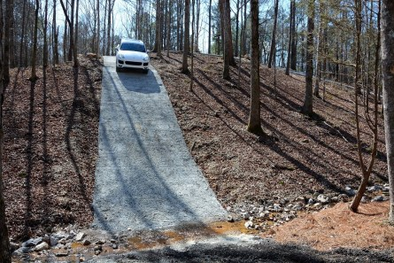 A 55 percent downhill grade on the park's new obstacle course. (Barber Motorsports Park and Museum)