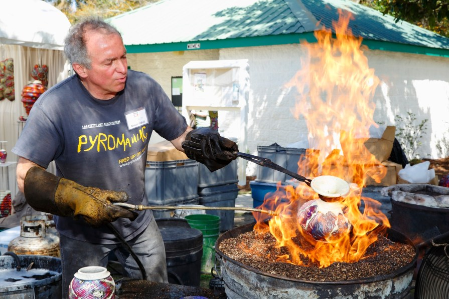 Festival goers may also enjoy live visual arts demonstrations including hot glass and clay. (Contributed)