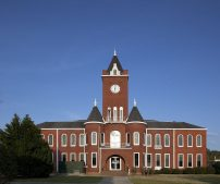 Coffee County Courthouse in Elba, 2010. (The George F. Landegger Collection of Alabama Photographs in Carol M. Highsmith's America, Library of Congress, Prints and Photographs Division)