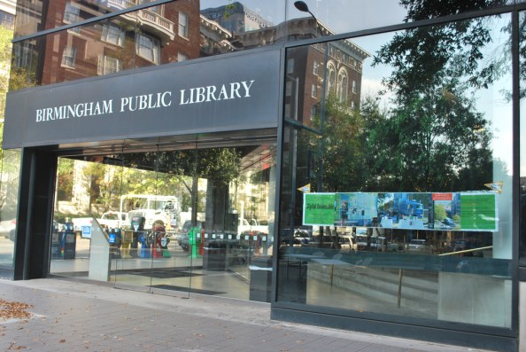 Birmingham Public Library, 2010. (Digital Bookmobile, Flickr)