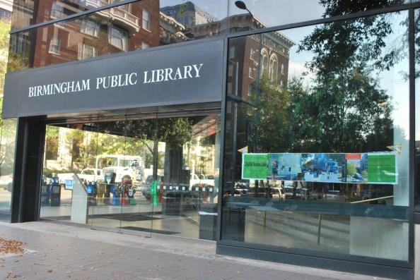 Birmingham Public Library, 2010. (Digital Bookmobile, Flickr)