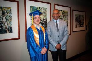 Innovate Birmingham held its commencement for its most recent graduates of I AM BHAM and Generation IT. (Billy Brown / Alabama NewsCenter)