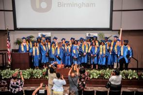 The graduates of the Innovate Birmingham Development Program. (Billy Brown / Alabama NewsCenter)