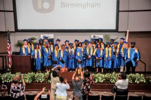 The graduates of the Innovate Birmingham Development Program. (Billy Brown / Alabama NewsCenter)