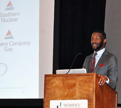 Birmingham Mayor Randall Woddfin helped kick off the Power Industry Summit. (contributed)