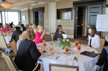 Women from across the state gathered to talk and learn about finance. (Sarah Skipper)