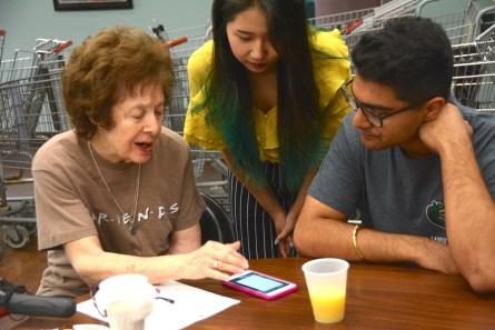 Cyber-Seniors helps the elderly learn and enjoy new technology. (Karim Shamsi-Basha / Alabama NewsCenter)