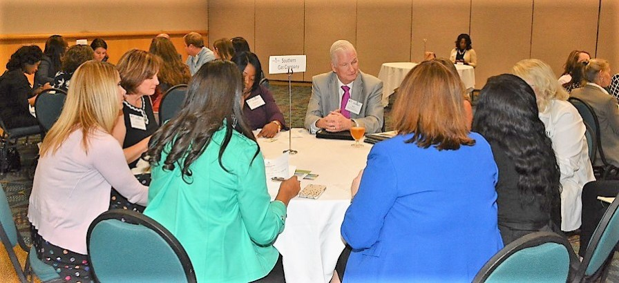 The Women's Business Enterprise Council South brought large companies and small women-owned businesses together to make connections at the Power Industry Summit in Birmingham. (contributed)