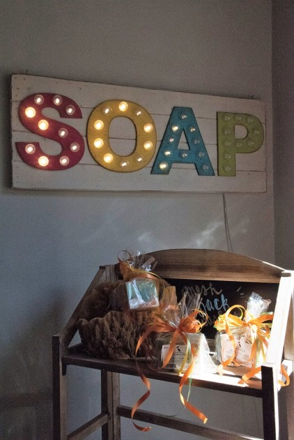 Fairhope Soap sells gift sets. (Brittany Faush / Alabama NewsCenter)
