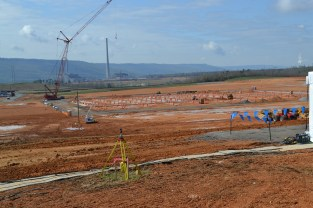 Construction work has begun on the site of Google's $600 million Alabama data center. (contributed)