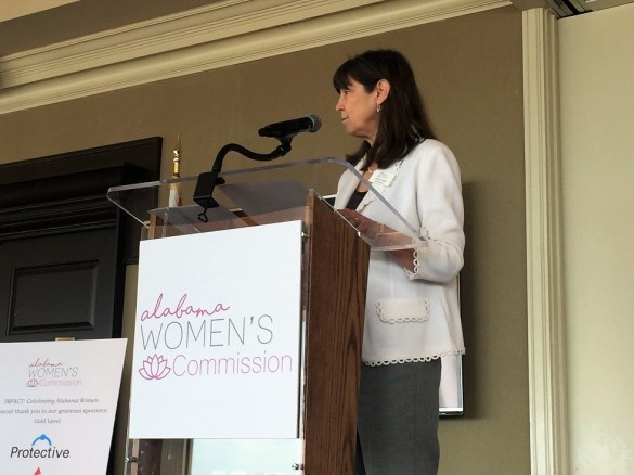 Debbie Long represents Jefferson County on the Alabama Women's Commission. (Sarah Skipper)