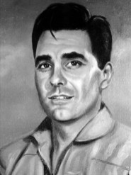 """Flight engineer Leo F. Baker was one of eight Alabama Air National Guard members who volunteered to fly a covert bombing mission during the Bay of Pigs assault on Cuba in April 1961. Baker and pilot Thomas """"Pete"""" Ray were shot down and killed in a firefight on Cuban soil. (From Encyclopedia of Alabama, courtesy of Southern Museum of Flight)"""