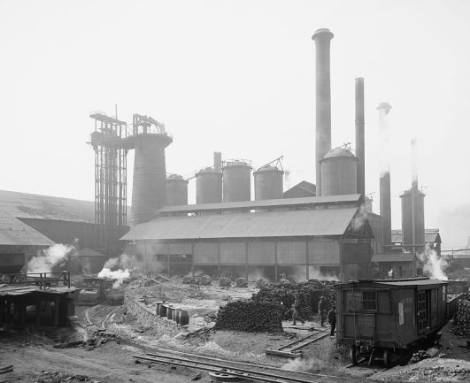 Sloss Furnaces, Birmingham, c. 1906. (Detroit Publishing Co., Library of Congress Prints and Photographs Division)