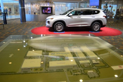 A $388 million engine plant expansion is the largest for Hyundai Motor Manufacturing Alabama's $1.8 billion auto plant. (Michael Tomberlin / Alabama NewsCenter)