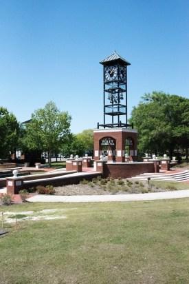 Centennial Park Plaza is an ideal spot for outdoor events. (Brittany Faush/Alabama NewsCenter)