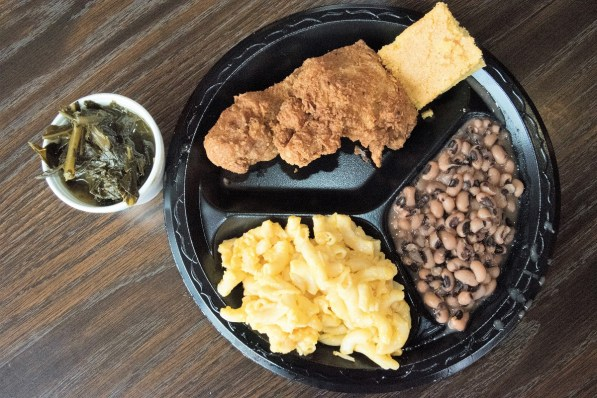 Yes, they cut it all up themselves. Rodney's offers classic soul food cooked with love. (Brittany Faush/Alabama NewsCenter)