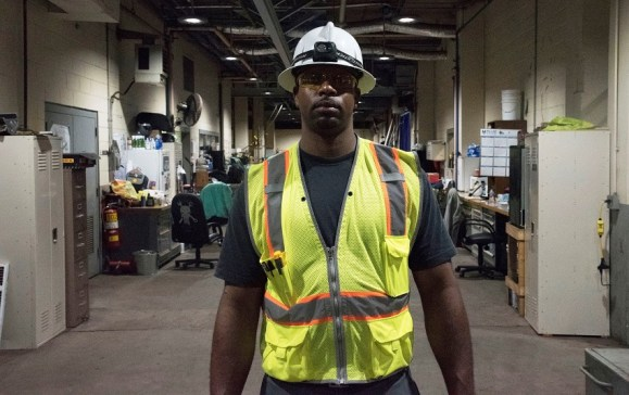 Titus Waldrop is an important part of the team at Alabama Power's Plant Miller. (Brittany Faush/Alabama NewsCenter)