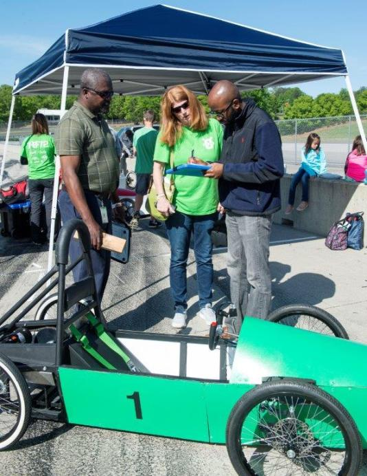 Electrathon Alabama 2018 included 36 cars designed by 20 high schools and three colleges in Alabama and Georgia. (Wynter Byrd / Alabama NewsCenter)