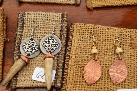 The Fun Company is turning pocket change into one-of-a-kind pieces of jewelry. (Michael Tomberlin / Alabama NewsCenter)