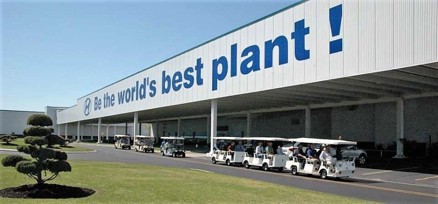 Hyundai's Alabama plant produced nearly 330,000 vehicles and about 700,000 engines in 2017. Production started at the Montgomery facility in 2005. (contributed)
