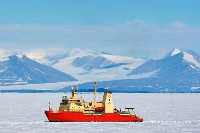 For more than a decade, satellites have been recording massive ice loss and rapid change in the Thwaites Glacier area in west Antarctica. Now an international team of scientists will try to get a better idea of how soon the glacier could begin to collapse, raising sea levels substantially. (Mike Lucibella)