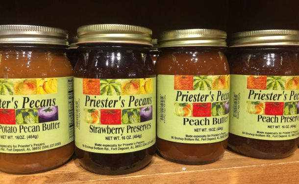 Fruit preserves and butters are also available for purchase. (Keisa Sharpe/Alabama NewsCenter)