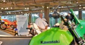 Jeff Ray, executive director of the Barber Vintage Motorsports Museum, said the venue had 65,000 visitors last year and more than 240,000 attended events at the Barber Motorsports Park. (Michael Tomberlin / Alabama NewsCenter)