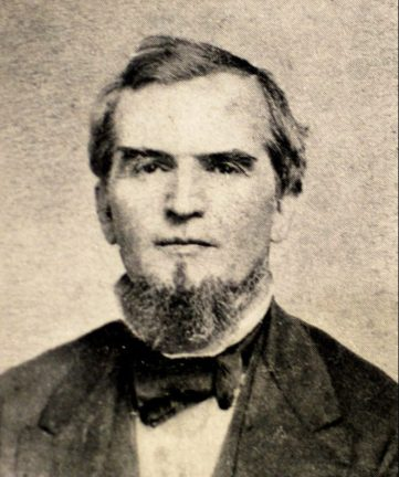 Limestone County native James Withers Sloss (1820-1890) was an industrialist who led the early development of Birmingham, founding Sloss Furnaces in 1881. Sloss served the Confederacy during the Civil War and was a successful planter and businessman before moving to iron production. (From Encyclopedia of Alabama, courtesy of Birmingham Public Library Archives)