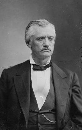 John Tyler Morgan, c. 1870-1880. (Library of Congress, Prints and Photographs Division, Wikipedia)