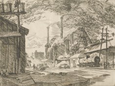 Sloss Furnaces, c. 1935. (Birmingham Museum of Art)