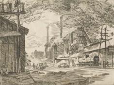 Sloss Furnaces, c. 1935. (Birmingham Museum of Art)